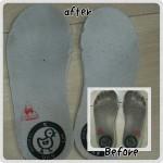 子供の運動靴の臭いをスッキリ解消
